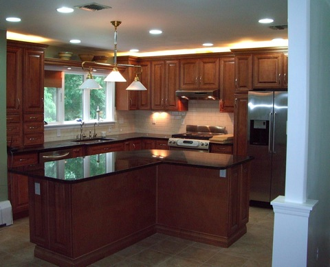 28 L Shaped Kitchen Island Small Kitchen With L: l shaped kitchen designs with island