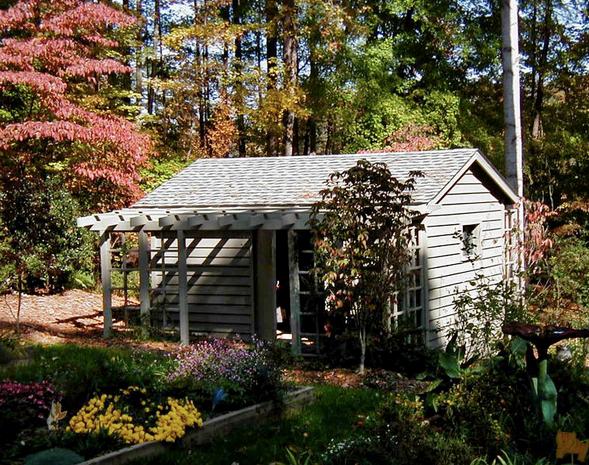 Servicelane Charming Garden Shed